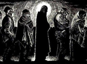 Fritz Eichenberg, Christ in the Breadlines